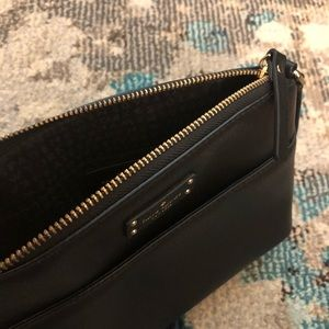 Kate Spade Small Crossbody Black Leather Bag